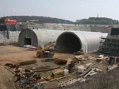 Tunely Radejčín.