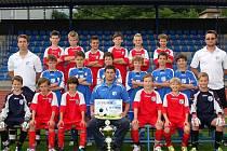 Přípravka FK Ústí U11 letos ovládla krajský přebor a zajistila si postup do žákovské ligy.