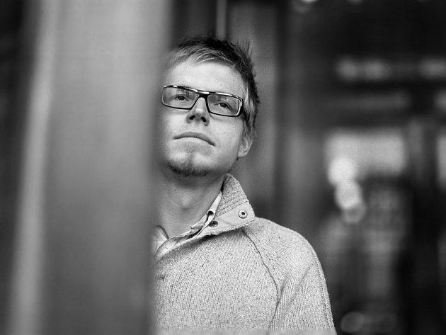 "Jaroslav Balvín, autor knížky ""Ryba a host"", dnes."