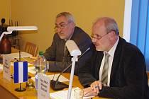 Místostarosta ústeckého Střekova Viktor Malinkovič (vlevo) rezignuje