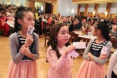 Velká oslava vietnamského lunárního Nového roku v Ústí nad Labem.