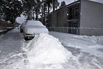 V loňském roce jsme sníh na Bukově neviděli, letos si ho užíváme vrchovatě.