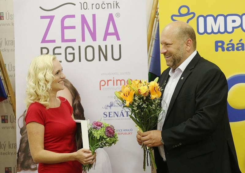 Ženou regionu 2019 se stala Šárka Pravdová z Lovosic. Postupuje do celostátního kola.