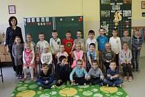 1.A, ZŠ Rabasova, Severní Terasa, třídní učitelka Lenka Cvejnová.