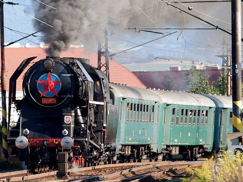 Lokomotivy a hnací vozidla mají svá jména - Šlechtična.