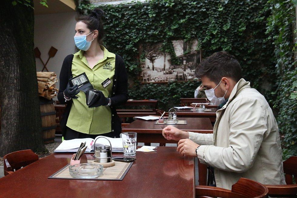 Uvolnění nouzových opatření v Ústí nad Labem. 11. května