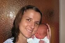 Lenka Šmejkalová, porodila v ústecké porodnici dne 28. 1. 2011 (18.16) syna Radka  (49 cm, 2,93 kg).
