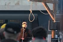 Ústecká demonstrace proti komunistům