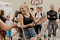Vítání prázdnin na Kostelním náměstí v Ústí n. L. uspořádal Nadační fond Energie společně s OC Forum
