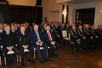 Udělení služebních medailí Hasičského záchranného sboru ČR ke státnímu svátku 28.října.