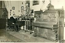 Štědrý den 1913, aneb Stille Nacht, heilige Nacht! Autoportrét