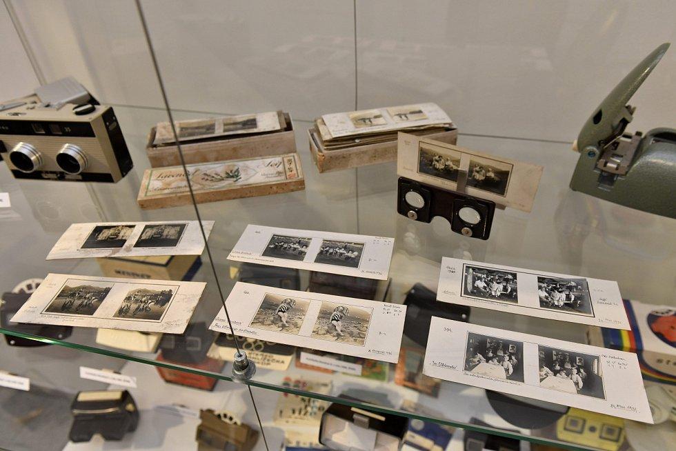 Stereoskopické fotografie Ústecka z třicátých let budou k vidění v ústeckém muzeu.