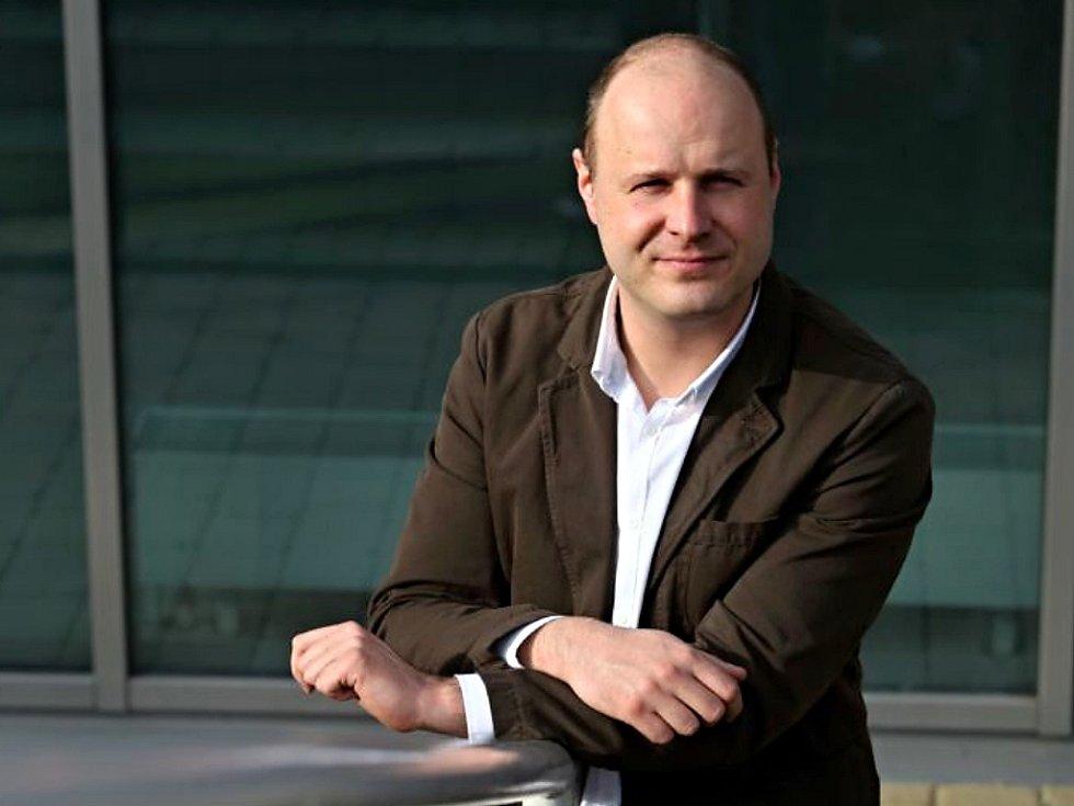 Politolog Lukáš Novotný
