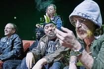 V pátek 11. června bude mít na koupališti v Brné premiéru hra Činoherního studia v Ústí nad Labem Harila aneb Čtyři z punku a pes.