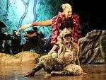 Symfonická pohádka Péťa a vlk v podání ústeckého divadla