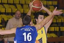 Basketbalisté Ústí doma smetli slabý Prostějov B