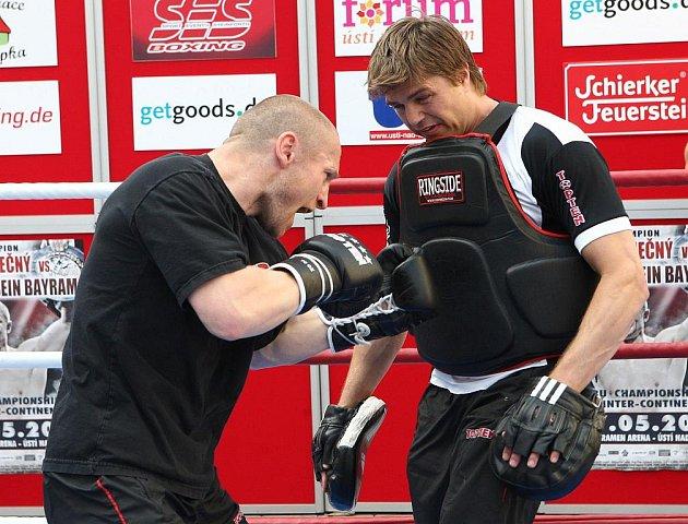 Lukáš Konečný hodlá obhájit pás nejlepšího boxera Evropy...