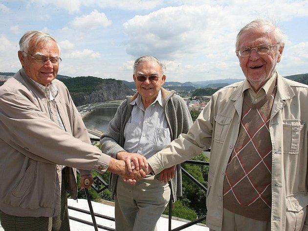 O víkendu si přijeli zavzpomínat bývalí studenti německého gymnázia v Ústí nad Labem.