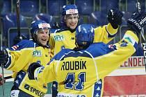 Hokejisté Ústeckých vyřadili v semifinálové série play off první ligy v pěti utkáních Jihlavu a postoupili do finále. Na soupeře si však ještě musí počkat.