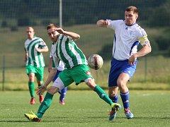 Fotbalisté Libouchce (zeleno-bílí) zakončili přípravu na novou sezonu.