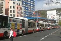 Anonym ochromil v pondělí odpoledne centrum Ústí.