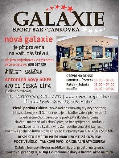 Galaxie sport bar.