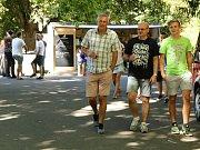 Malý Hamburk v neděli 12. srpna.