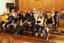 ZŠ Vojnovičova ze Všebořic navštívila Sněmovnu