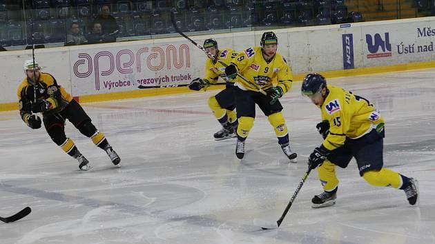 Hokejové derby Ústí nad Labem s Kadaní