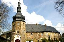 Hradozámek Wiesenburg.