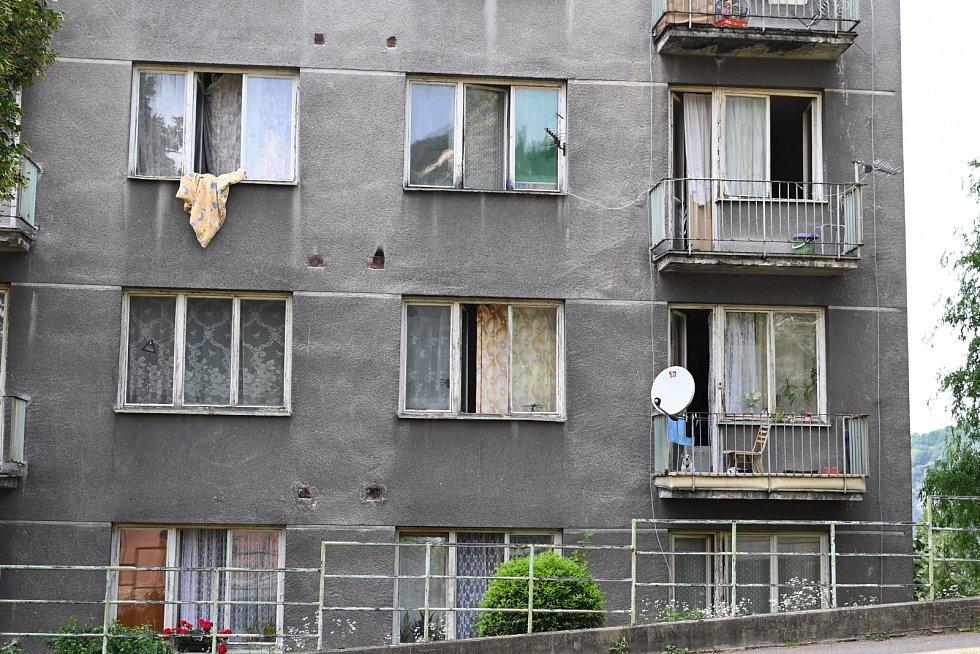 Ubytovna ve střekovské Truhlářově ulici.