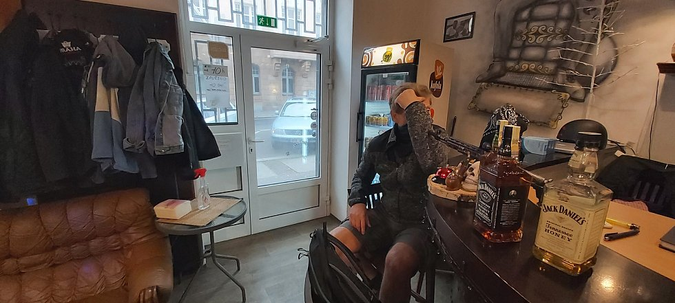 Po týdnu příprav otevřel v pondělí 3. května v Ústí i Barber shop Pepe v Londýnské ulici.