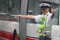 Dopravní policista - ilustrační foto