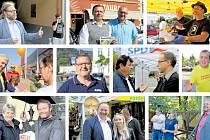 Kampaň stran před volbami do zastupitelstva Ústeckého kraje