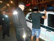 Ústečtí strážníci v akci. Ilustrační foto.