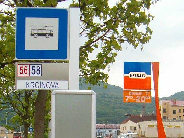 Zastávka Krčínova funguje od března 2007 v Krásném Březně, využívaná ale není