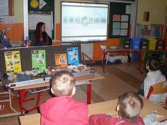 Na Základní škole ve Velkém Březně škole se konaly interaktivní besedy.