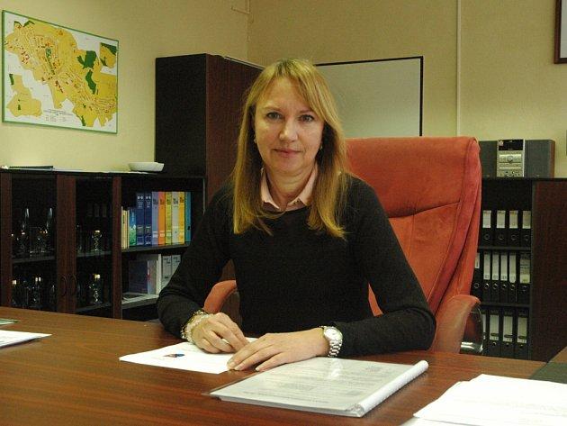 Renáta Zrníková, starostka Severní Terasy.
