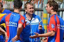 Nohejbalisté Slovanu doma remizovali a zůstávají druzí.