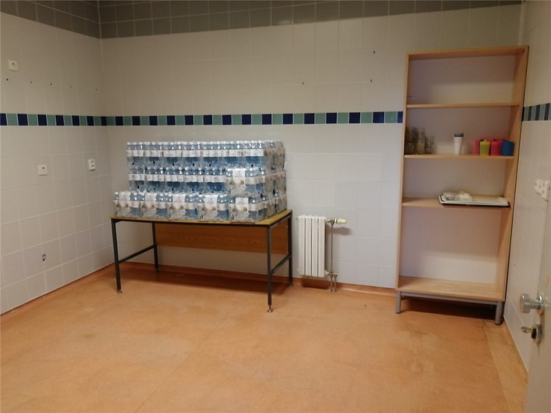 Kovidstanice v ústecké nemocnici.