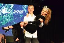Finále soutěže Dívka Talent 2019. Titul získala Natálie Karásková, druhé místo Gabriela Zajícová