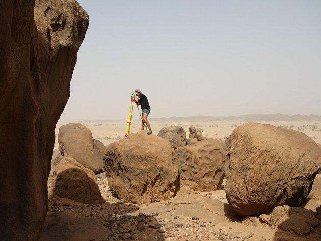 Jan Pacina – dokumentace archeologického výzkumu na lokalitě Sfinga.