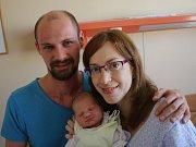 Filípek Žabčík se narodil Lucii Žabčíkové a Tomáši Žabčíkovi z Ústí nad Labem 7. září v 20.05 hod. v ústecké porodnici. Měřil 51 cm a vážil 3,35 kg.