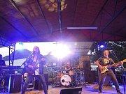 Tivolí léto ve Velkém Březně vyvrcholilo koncertem kapely Ferit.