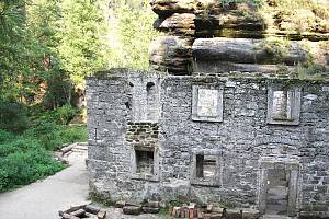 Dolský mlýn v Jetřichovicích.