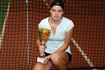 Dvanáctiletá Vendy Žižková z Ústí je velký tenisový talent.