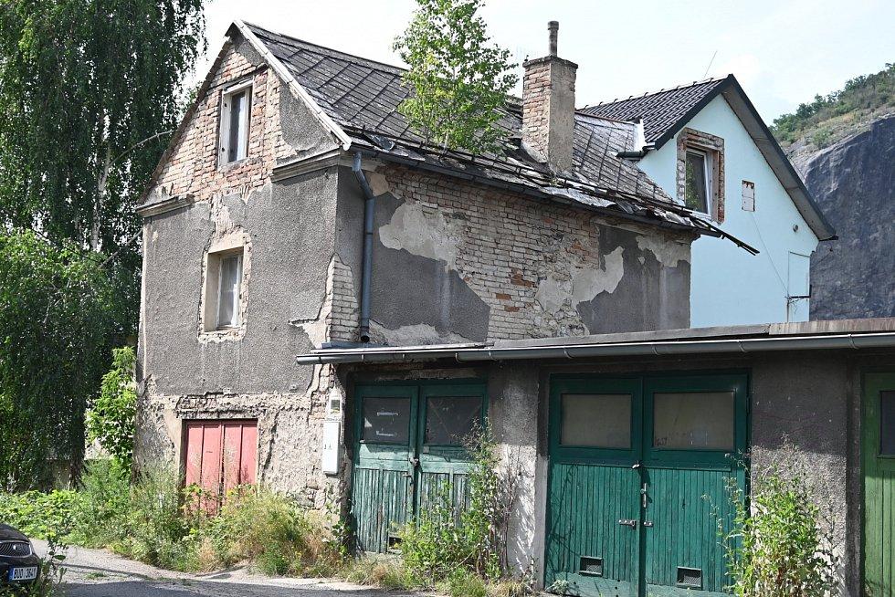 Ruina ve Střekově.