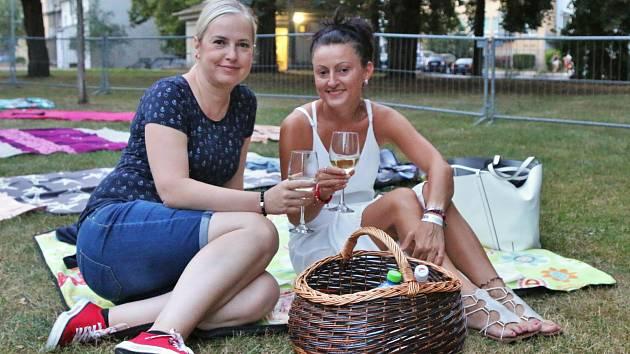 Městské sady v Ústí nad Labem patřily v sobotu 1. srpna navečer vínu a filmu 3Bobule.
