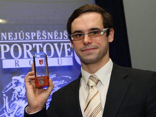 Plavec Petr Bartůněk se stal potřetí vkariéře Nejúspěšnějším sportovcem Ústecka.