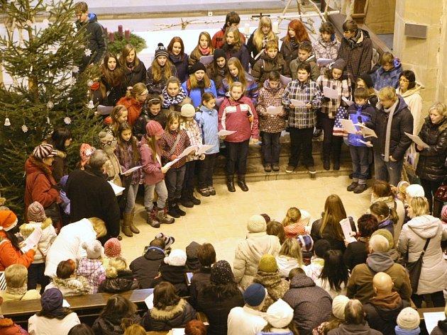 V Ústí nad Labem budeme opět zpívat v kostele Nanebevzetí Panny Marie.